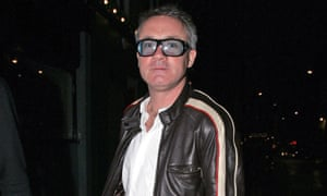 Damien Hirst at the Groucho Club