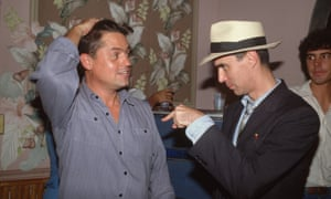 David Byrne, right, and Jonathan Demme in 1984.