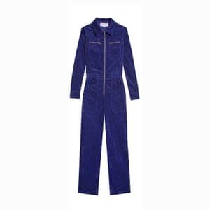 Editor's pick: your new-season staple Blue cord jumpsuit, £180, lfmarkey.com.