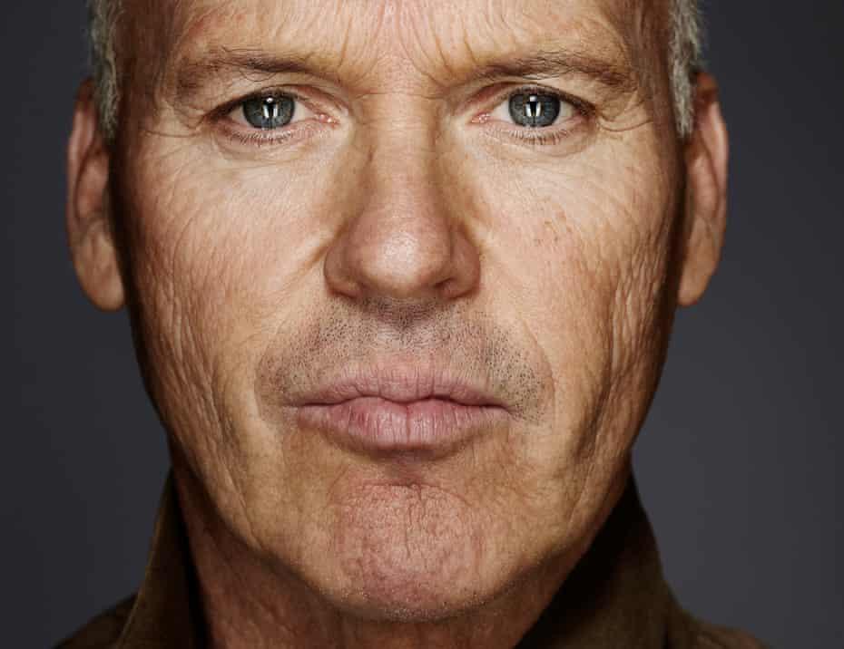 Close-up of actor Michael Keaton in November 2014