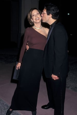 Mary Tyler Moore married her third husband Dr. Robert Levine in 1983