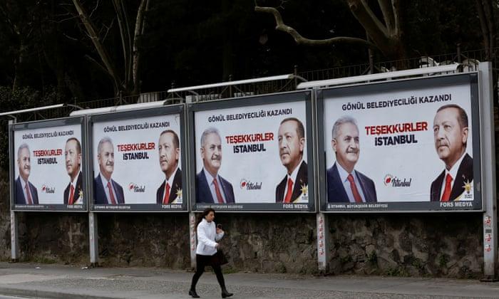 Erdoğan's grip on Turkey slips as opposition makes election