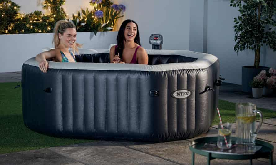 Is It Worth Spending 350 On An Inflatable Hot Tub Money The Guardian