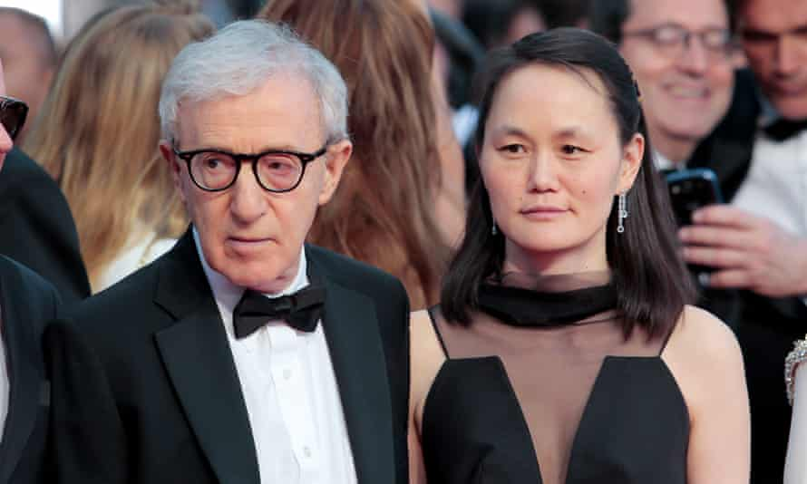 Woody Allen and Soon-Yi Previn in 2015.