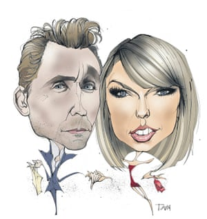Tom Hiddleston and Taylor Swift: the golden couple?