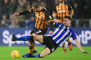 Sam Hutchinson (right) has been central to Sheffield Wednesday's recent upturn in form.
