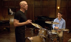 Brilliantly succinct … Whiplash, with JK Simmons and Miles Teller.