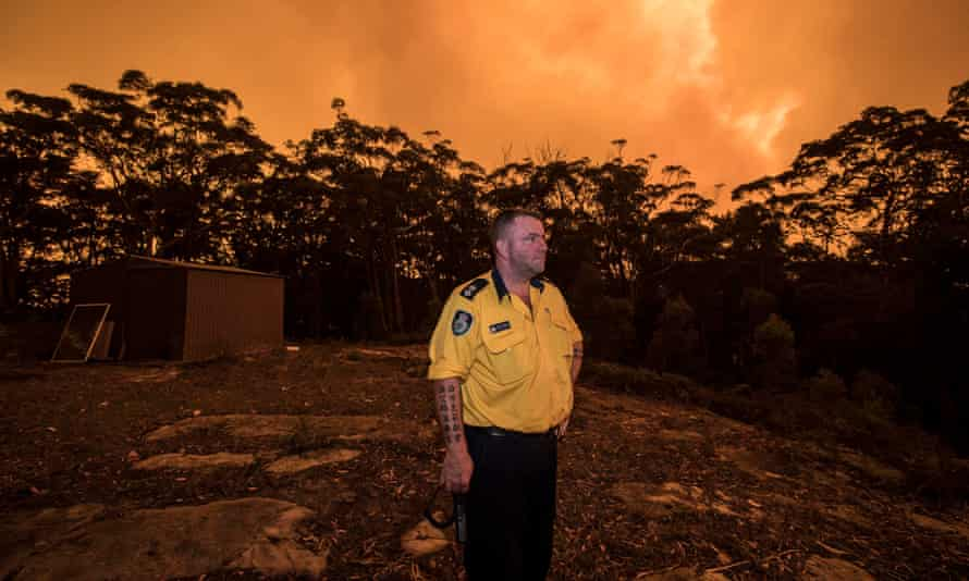 Greg Hodges says firefighters have been coughing like they have been smoking for 20 years