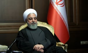 Iranian President Hassan Rouhani, held a video conference with the Minister of Health and other staff presenting reports on measures taken to combat the spread of coronavirus and new recommendations. Credit: AY-COLLECTION/SIPA/REX/Shutterstock (10583521b)
