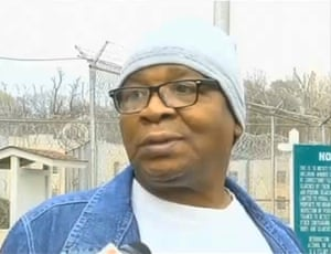 Glenn Ford, the day he left prison after nearly 26 years on death row. Ford was innocent and fully exonerated.