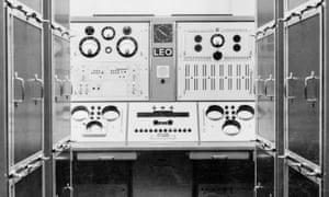Leo I electronic computer, c 1960s.