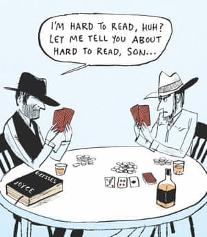 Berger & Wyse on Ulysses – cartoon | Life and style | The Guardian