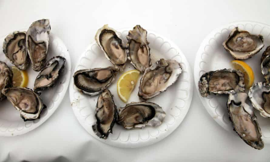 Dundrum Bay oysters.
