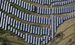 Businesses, like homeowners, have historically relied on their local utilities for power. Now, tech companies like Google and Facebook are racing to reach a 100% renewable energy target.