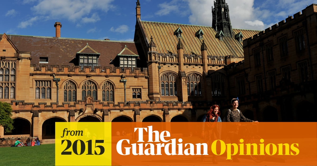 When it comes down to it, what are universities really for? | Andrew Campbell