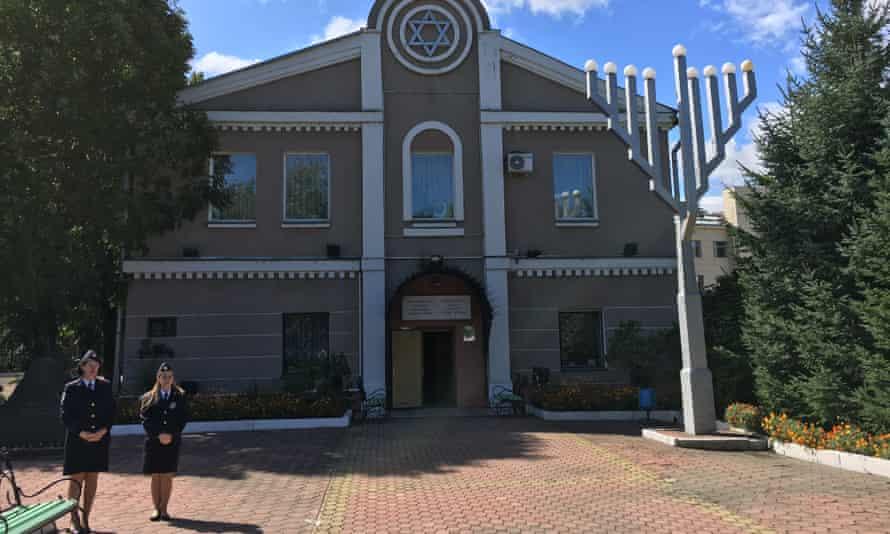 The synagogue in Birobidzhan.