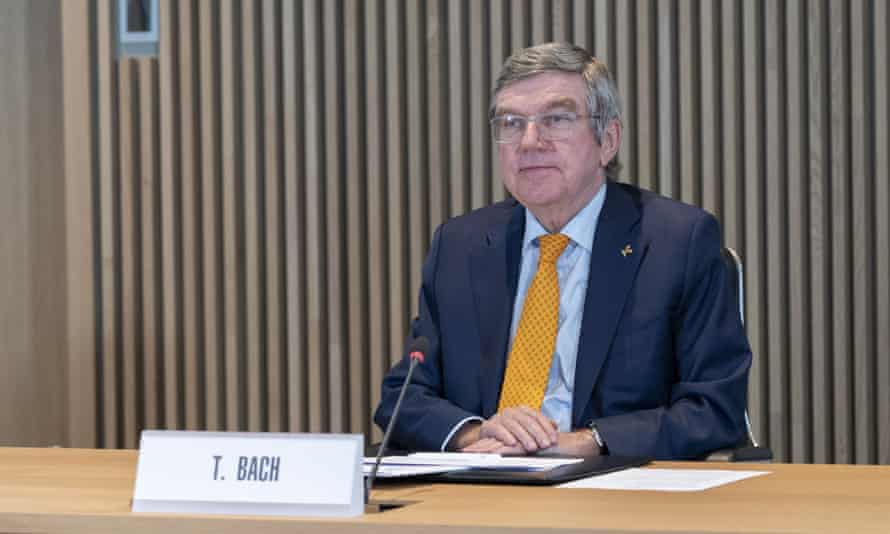 Thomas Bach, the International Olympic Committee president, said: 'Our task is to organise the Games, not to cancel them.'