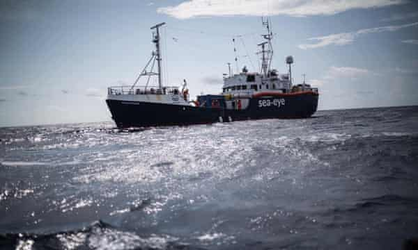 'Migrants never disappeared': the lone rescue ship braving a pandemic | Migration and development | The Guardian