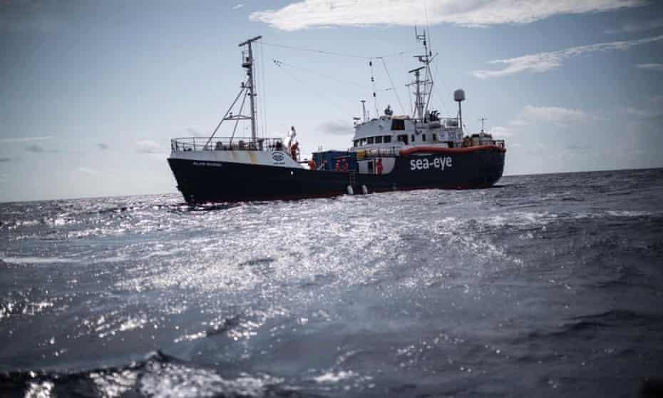 The Alan Kurdi migrant rescue boat