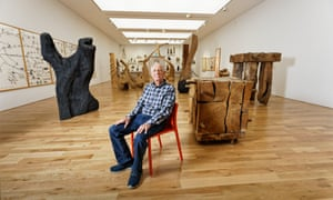 David Nash at the National Museum Cardiff