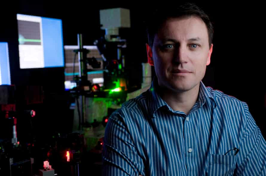 Scientist Dmitri Lapotko uses his knowledge of lasers to treat diseases at cell level.