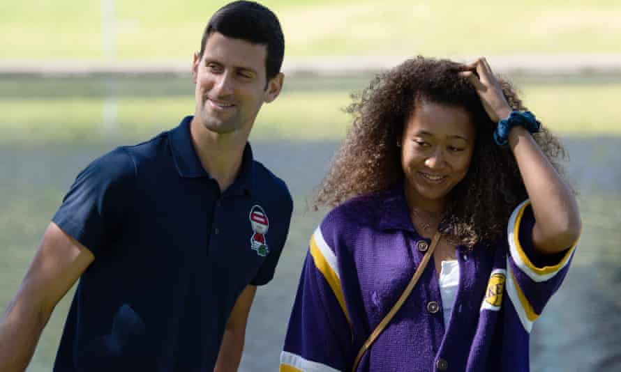 Novak Djokovic and Naomi Osaka were the singles champions at the Australian Open in Melbourne.