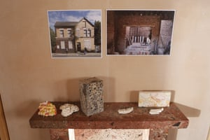 'Worthy' … Turner prize-winning architecture collective Assemble's mockup of a Liverpool house, with ceramics and materials used in their housing refurbishment scheme.