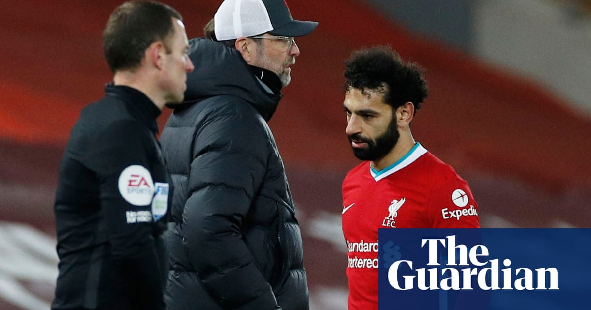 Klopp plays down Salah substitution and urges Liverpool to 'fight harder'