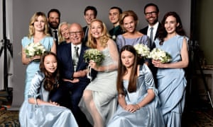 Jerry Hall and Rupert Murdoch's family photo