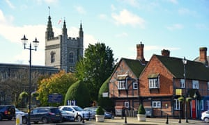 St Mary & All Saints Church in Old Beaconsfield.