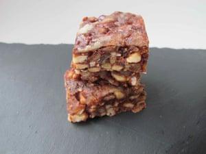 Alvaro Maccioni's panforte includes walnuts and hazelnuts.
