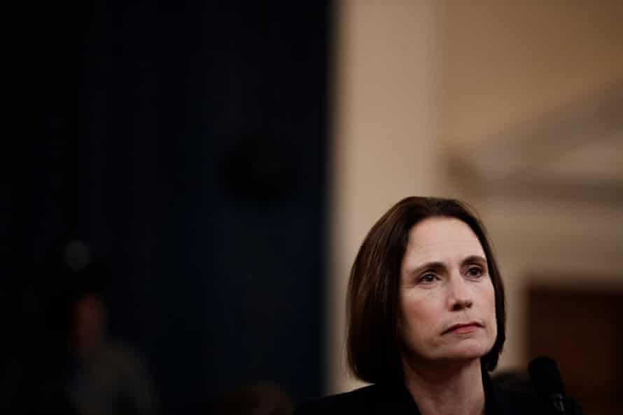 Fiona Hill, a government expert on Russia, criticized Trump administration dysfunction.