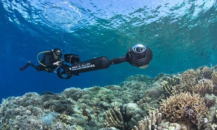 AI yang digunakan dalam riset di Manado | Foto: The Ocean Agency/The Ocean Agency funded by Paul G. Allen Philanthropies