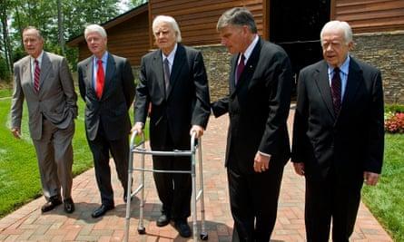 Billy Graham and Franklin Graham