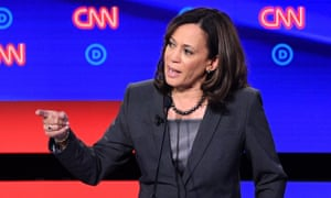 Kamala Harris and Biden clashed over healthcare.