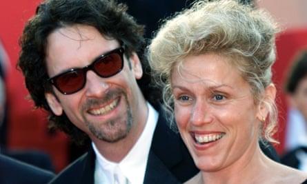 McDormand and Joel Coen in 2001.