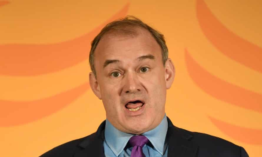 Sir Ed Davey, pictured last year.