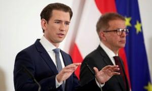 Sebastian Kurz of Austria.