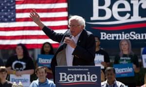 Bernie Sanders has pledged to put forward $16.3tn.