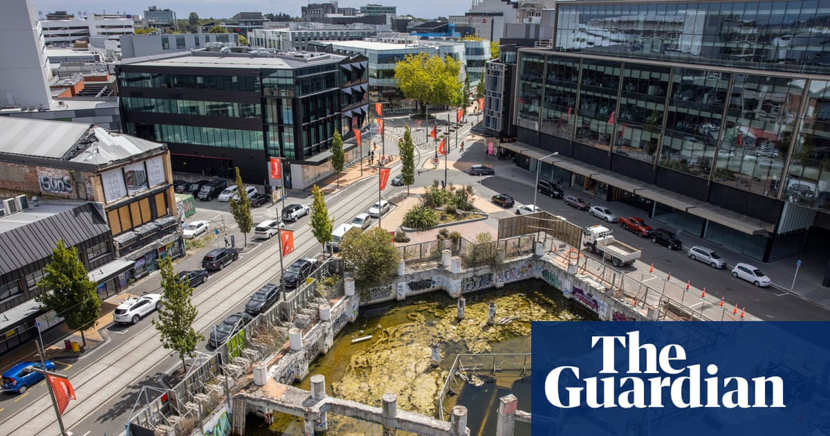 Before and after: how the 2011 earthquake changed Christchurch - The Guardian