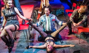Facing up to life and death … Rent at St James theatre, London.