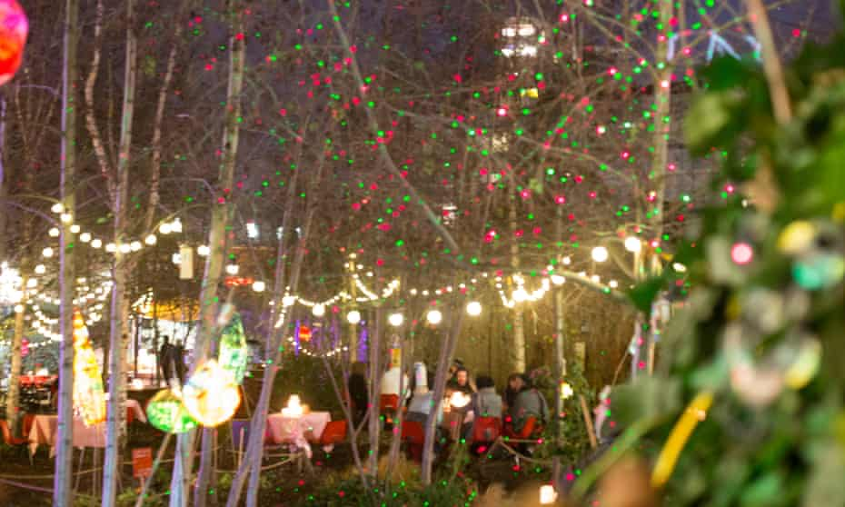 Light Nights at Dalston Eastern Curve Garden