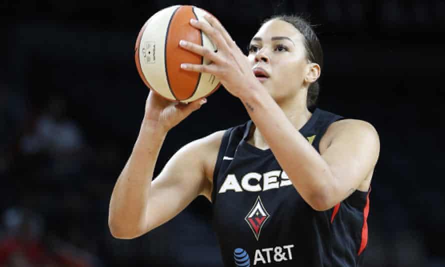 Liz Cambage is a three-time WNBA All-Star
