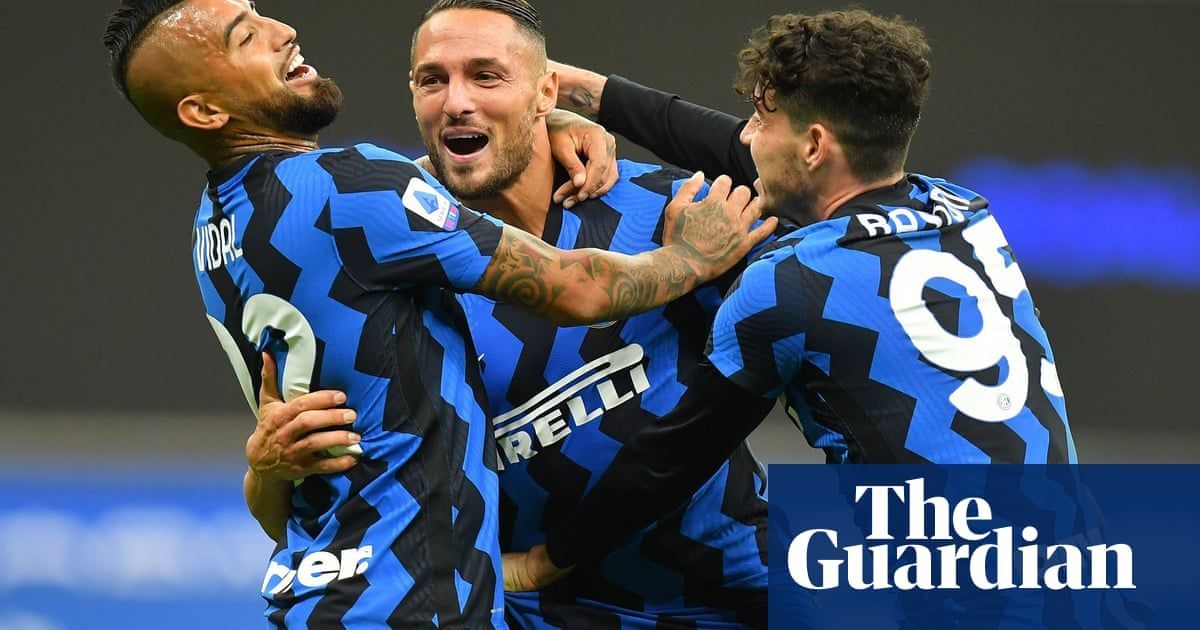 Antonio Conte finally embraces the delirium as Inter rescue themselves | Nicky Bandini - the guardian