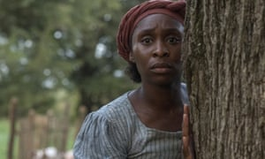 Cynthia Erivo in Harriet, best actress nominee.