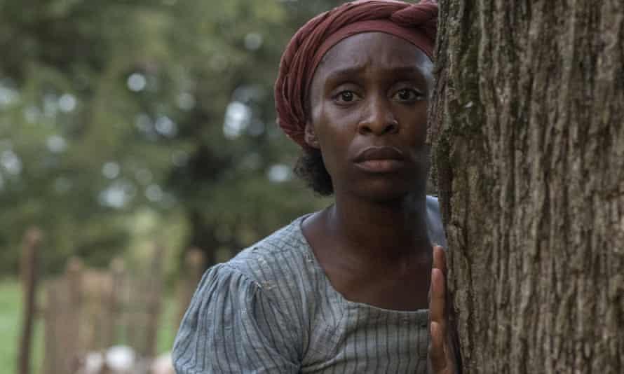 Cynthia Erivo in Harriet, best actress nominee.
