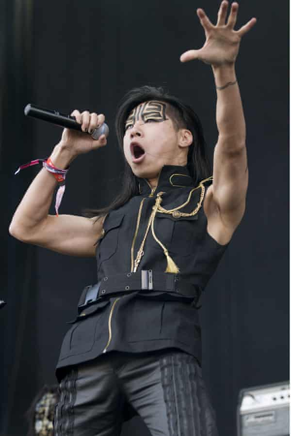 Freddy Lim at the Download Festival, Castle Donington, in June 2011.