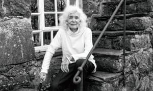 """""""Jan Morris photographed at her home in Wales."""""""