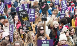 'The talent of too many women is wasted': Women's March, London, January 2019