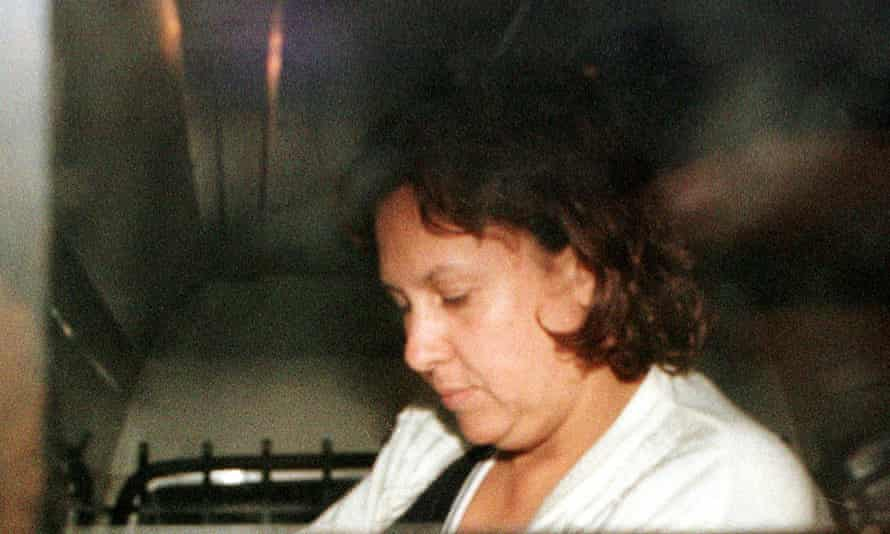 Victoria Henao, the widow of Colombian drug lord Pablo Escobar, is seen after a previous arrest in Buenos Aires in 1999.
